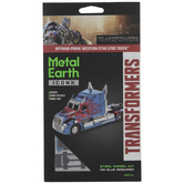 Metal Earth Optimus Prime Truck Model Kit