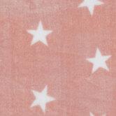 Blush Stars Plush Fleece Fabric