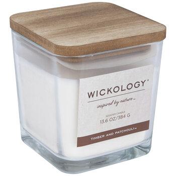 Timber & Patchouli Wood Wick Jar Candle