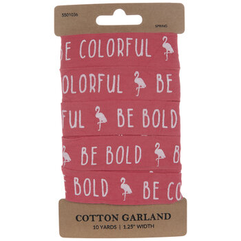 Be Colorful Be Bold Tape Garland