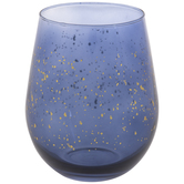 Splatter Stemless Glass