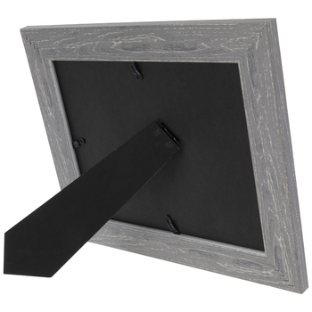 Distressed Gray Wood Look Frame