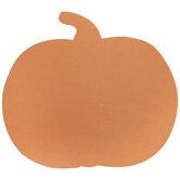 Orange Pumpkin Cutouts