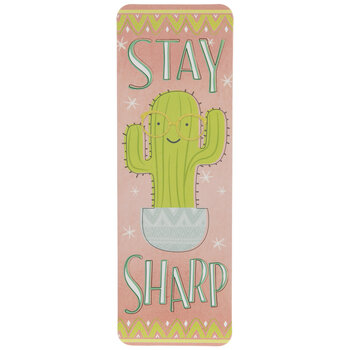 Stay Sharp Cactus Bookmarks