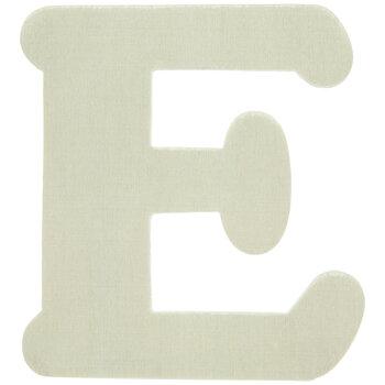"Wood Letters E - 4"""