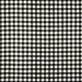 Black & White Newton Check Duck Cloth Fabric