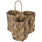 Woven Straw Caddy