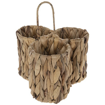 Woven Straw Caddy