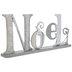 Silver & White Noel Metal Decor