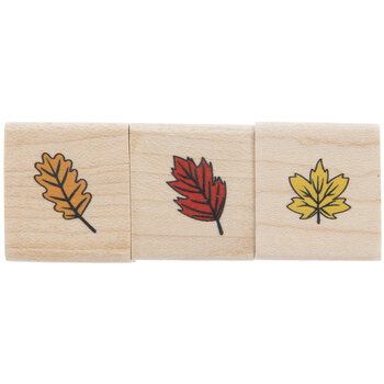 Leaves Rubber Stamps