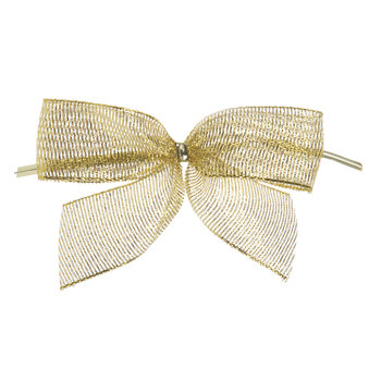 Bow Twist Ties