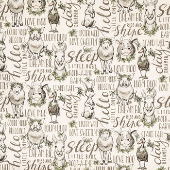Count Your Blessings Cotton Calico Fabric