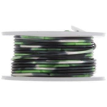 Black & Green Artistic Wire - 18 Gauge