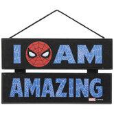 I Am Amazing Spider-Man Wood Wall Decor