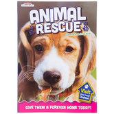 Animal Rescue Coloring & Activity Book