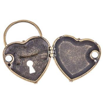 Magnetic Heart Locket Pendant