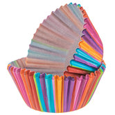 Vertical Striped Baking Cups