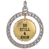 Be Still & Know Pendant