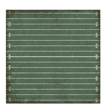 "Football Field Scrapbook Paper - 12"" x 12"""