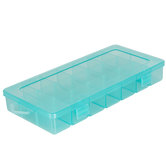Turquoise Storage Box With Removable Dividers