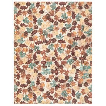 "Fall Leaves Scrapbook Paper - 8 1/2"" x 11"""