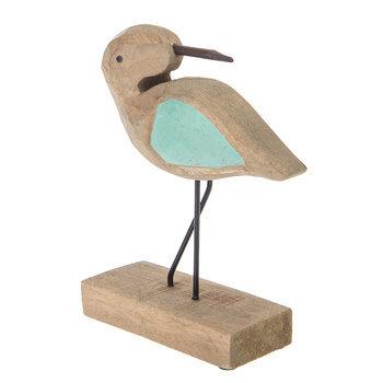 Looking Back Wood Willet Bird