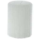 Venetian Distressed Pillar Candle