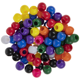 Assorted Plastic Round Beads