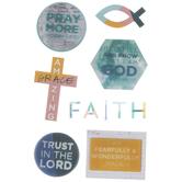 Faith 3D Stickers