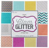 """Glam Glitter Paper Pack - 12"""" x 12"""""""