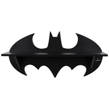 Black Batman Wood Wall Shelf