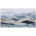 Blue & Gold Abstract Ocean Canvas Wall Decor