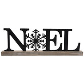 Noel Metal Decor