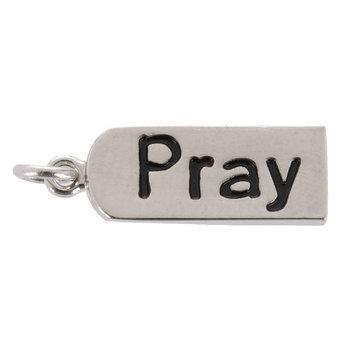 Pray Tag Charm