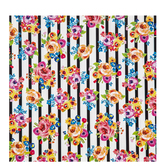 "Bloom Striped Self-Adhesive Vinyl - 12"" x 12"""