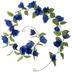 Blue Rose Garland