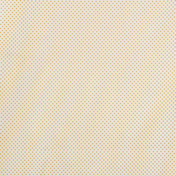 Off White & Mustard Mini Dot Fabric