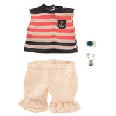 Anchors Away Doll Outfit