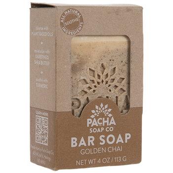 Pacha Golden Chai Soap Bar