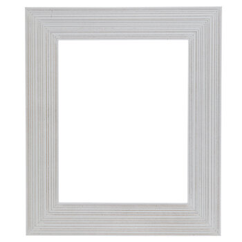 "White Wood Open Frame - 8"" x 10"""