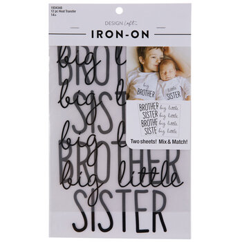 Brother & Sister Iron-On Appliques