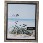 Silver & Black Slanted Wall Frame