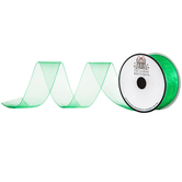 Emerald Organza Ribbon - 1 1/2""