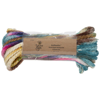 Yarn Bee Authentic Hand-Dyed Chunky Knit Yarn