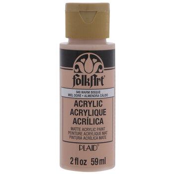 Warm Bisque FolkArt Acrylic Paint