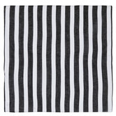 Black & White Striped Bandana