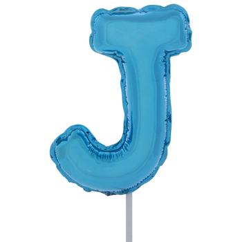 Letter Balloon Garden Pick - J