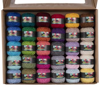 Multi-Color Artiste Crochet Cotton Thread