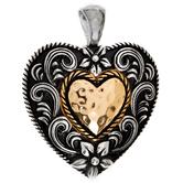 Western Heart Pendant