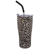 Leopard Print Stainless Steel Cup